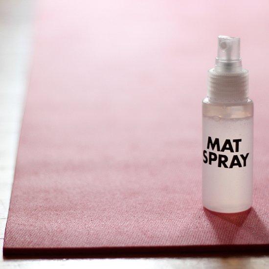 Yoga Mat Spray Recipe