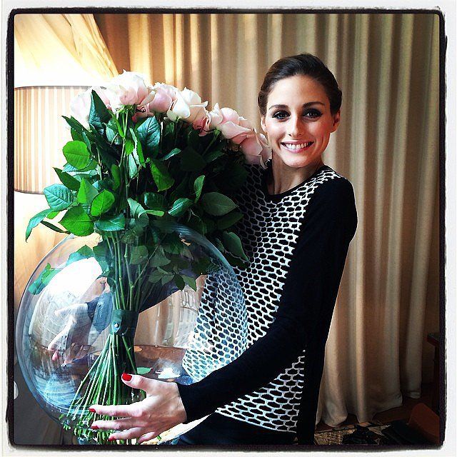 Stylish Beautiful Celebrity Instagram Pics Olivia