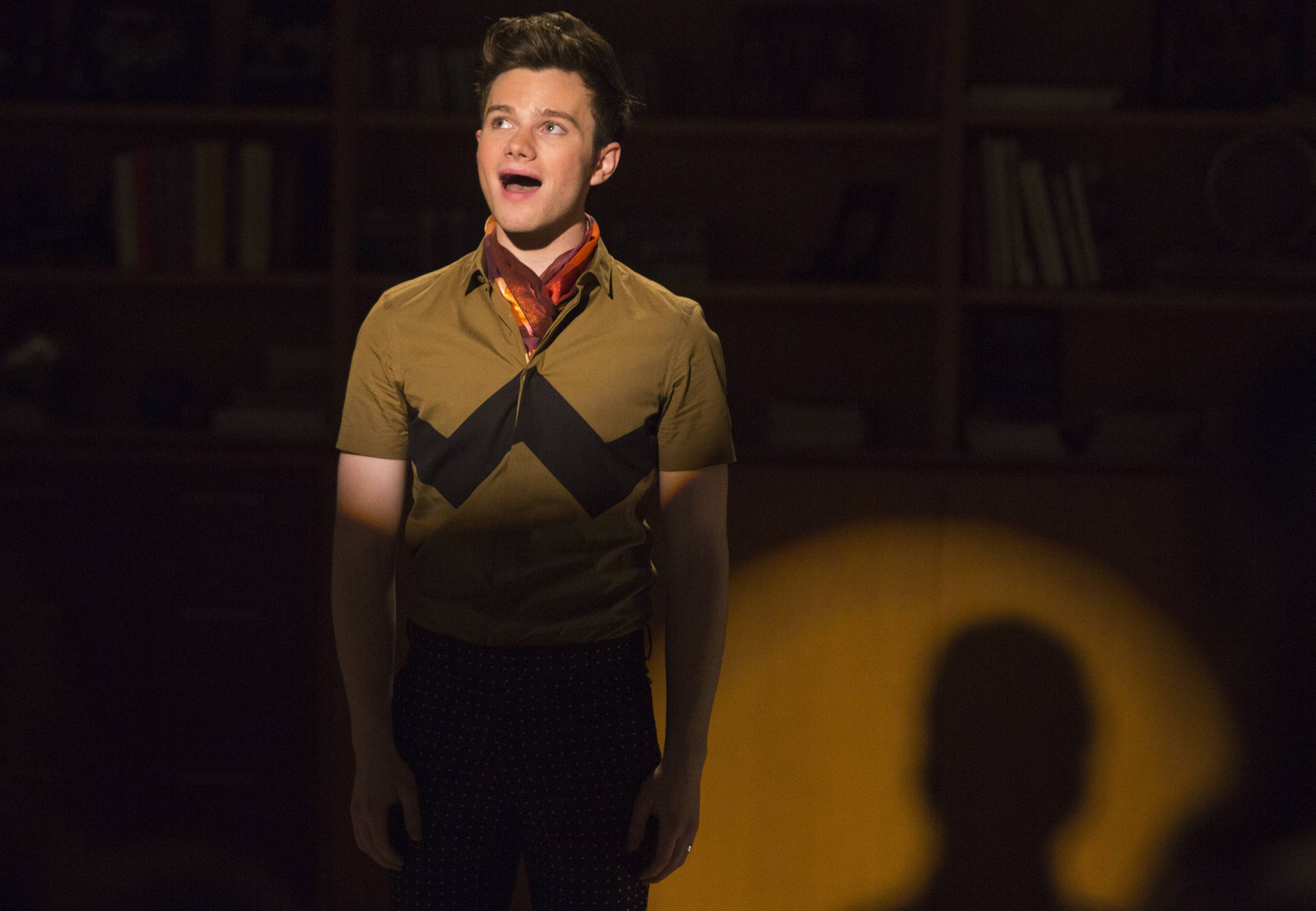 Chris Colfer stars as Kurt on Glee.