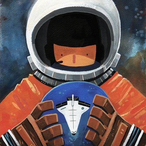Female Astronaut Paintings