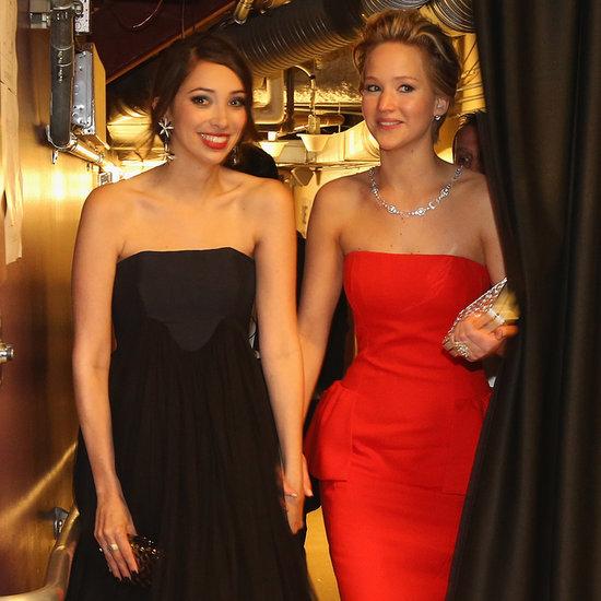 Jennifer Lawrence's Best Friend at the Oscars