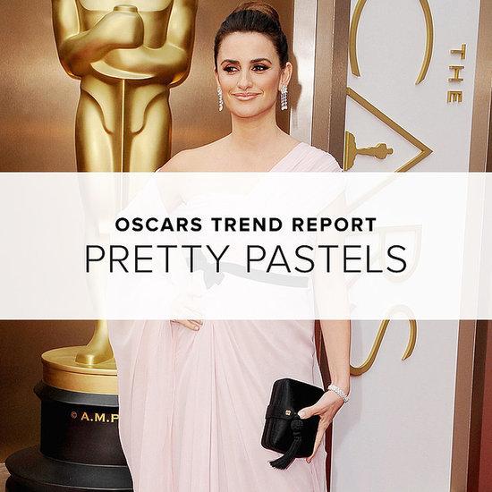 Oscars Red Carpet Trend 2014   Pastel Dresses