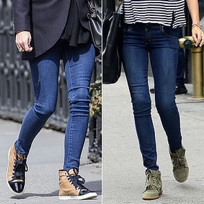 Celebrities Wearing Sneakers