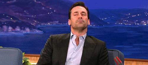 Jon Hamm pulls it off too, when he wants to.
