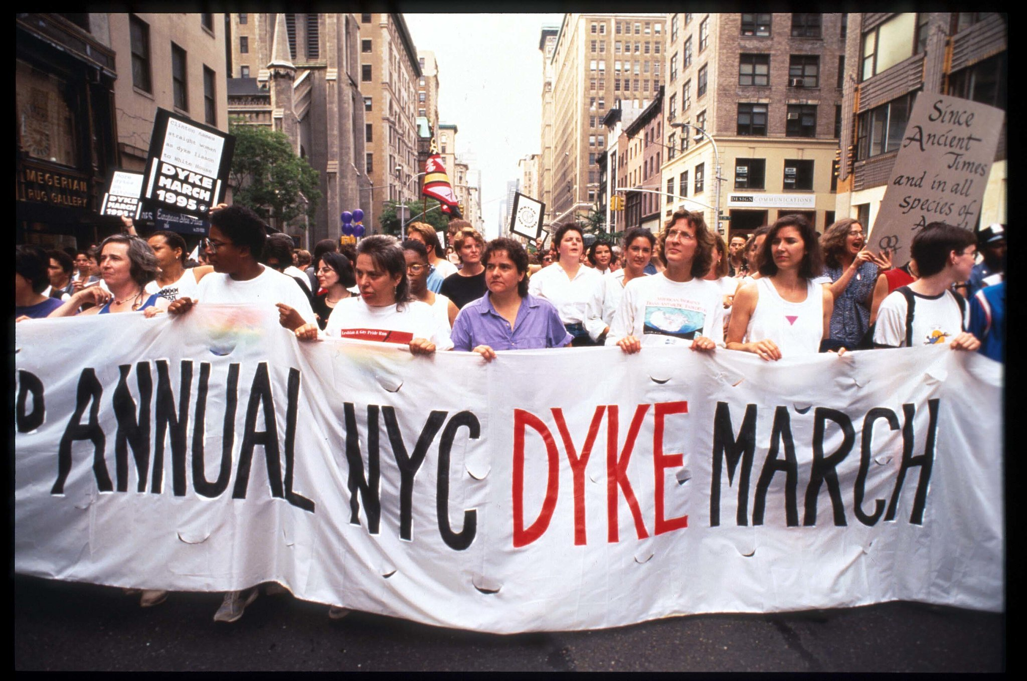 Lesbian Pride Parade in US, 1995