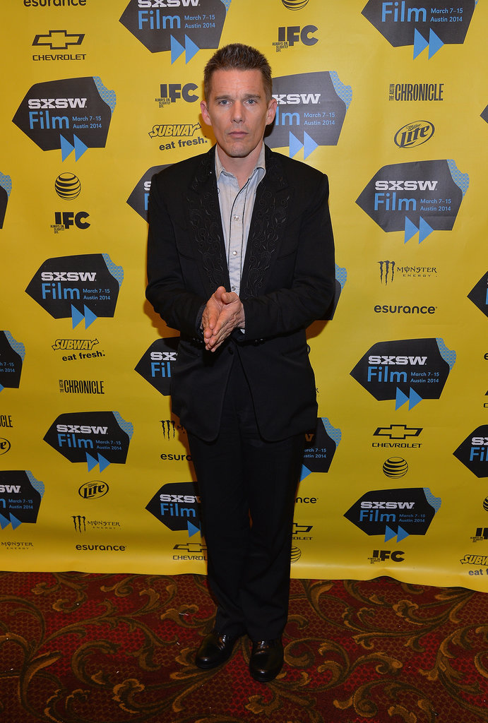 Ethan Hawke promoted Predestination on Saturday.