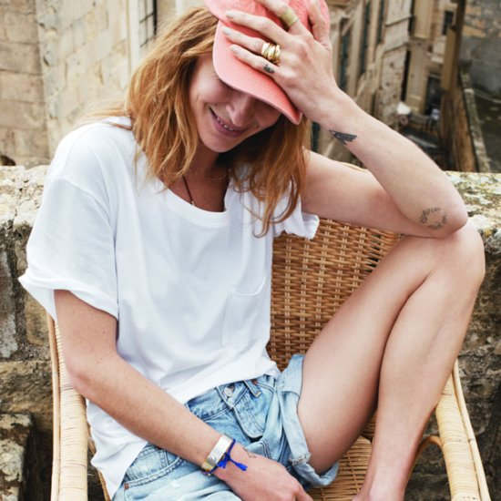 Erin Wasson in Madewell Spring 2014 Campaign Pictures