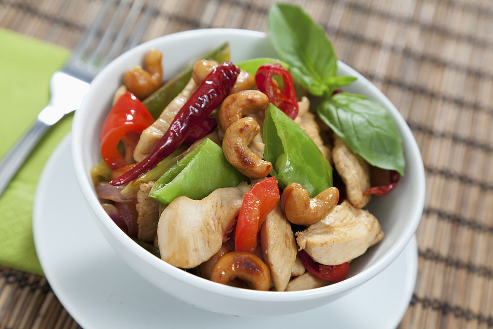 recipe thai chicken cashew nut stir fry