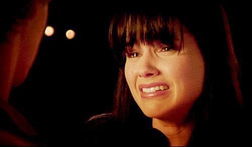 When Klaus Stabs Rebekah With the White Oak Stake