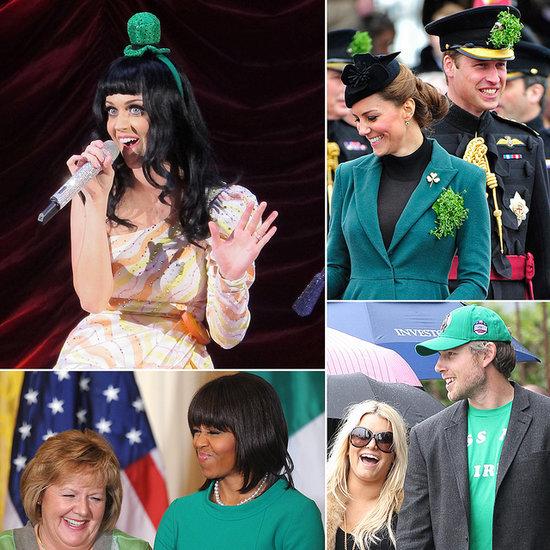 Stars Show St. Patrick's Day Spirit!