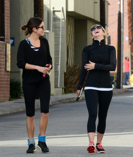 Alessandra Ambrosio at Gym, Ellie Goulding Running