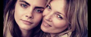 See Cara and Kate's Burberry Fragrance Campaign