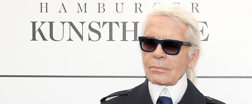 The Skin Care Tip We're Stealing From Karl Lagerfeld