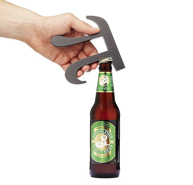 This pi bottle opener ($30) is sure to get friends talking when you bust it out.