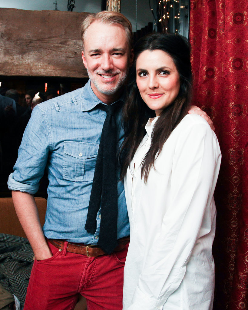 Michael Bastian and Eugenia Gonzalez
