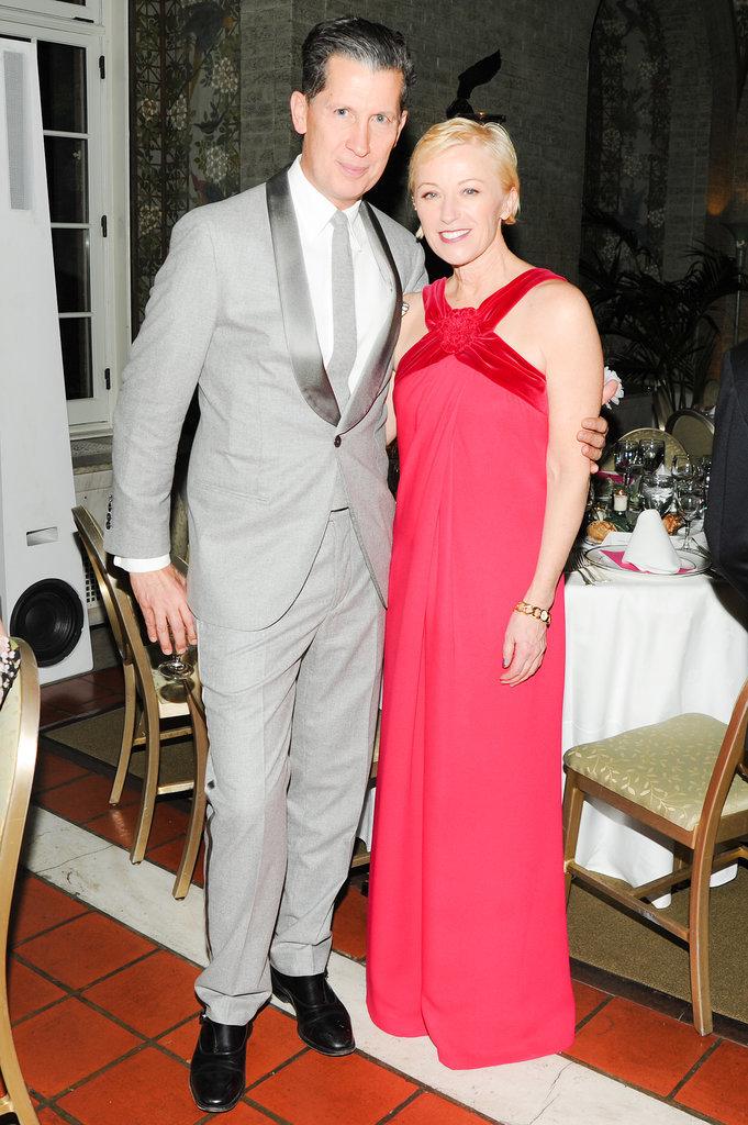 Stefano Tonchi and Cindy Sherman