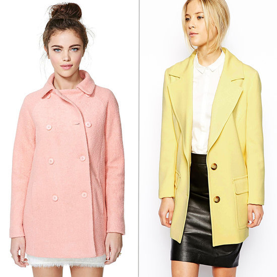 The Perfect Spring Coat? Pastel!