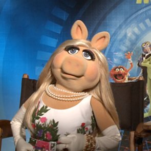 Muppets Most Wanted Interview With Miss Piggy and Kermit