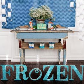 Frozen-Inspired Snowman Birthday Party Ideas
