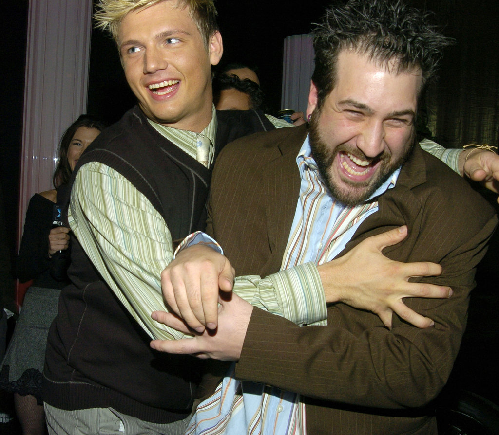 And some playful *NSYNC rivalry.