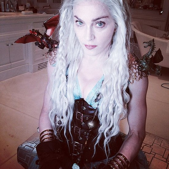 Madonna's Game of Thrones Costume | Pictures