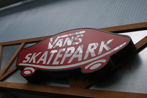 And the Vans SkatePark