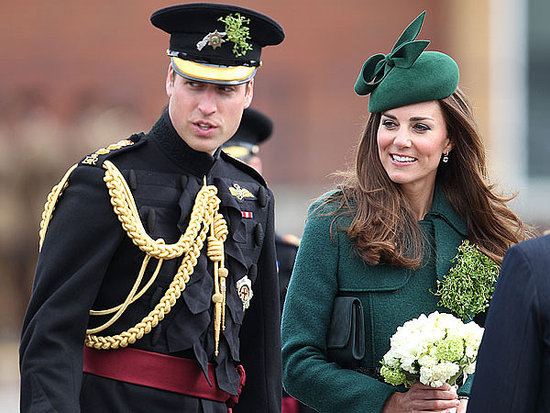 See Kate All Decked Out for St. Patrick's Day