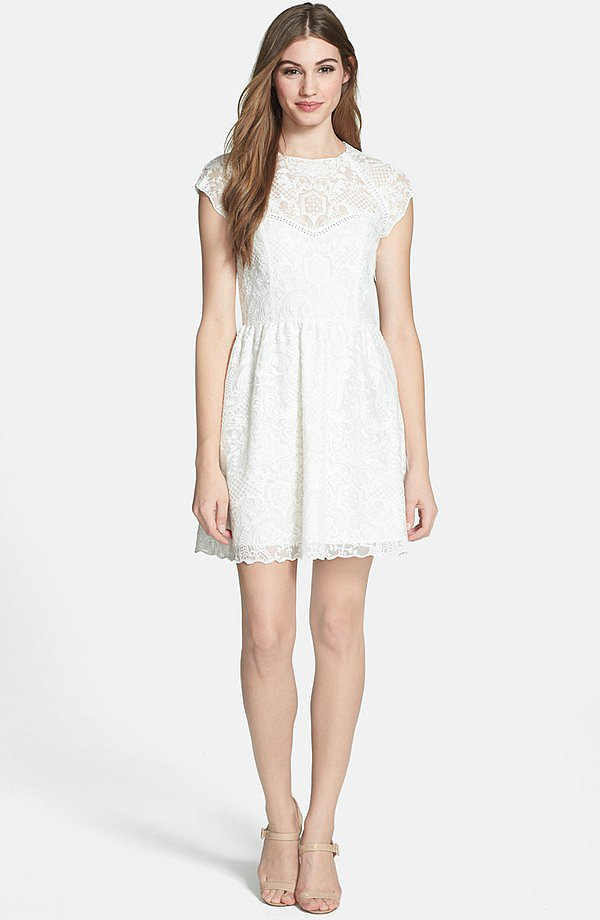 Dolce Vita Embroidered Dress