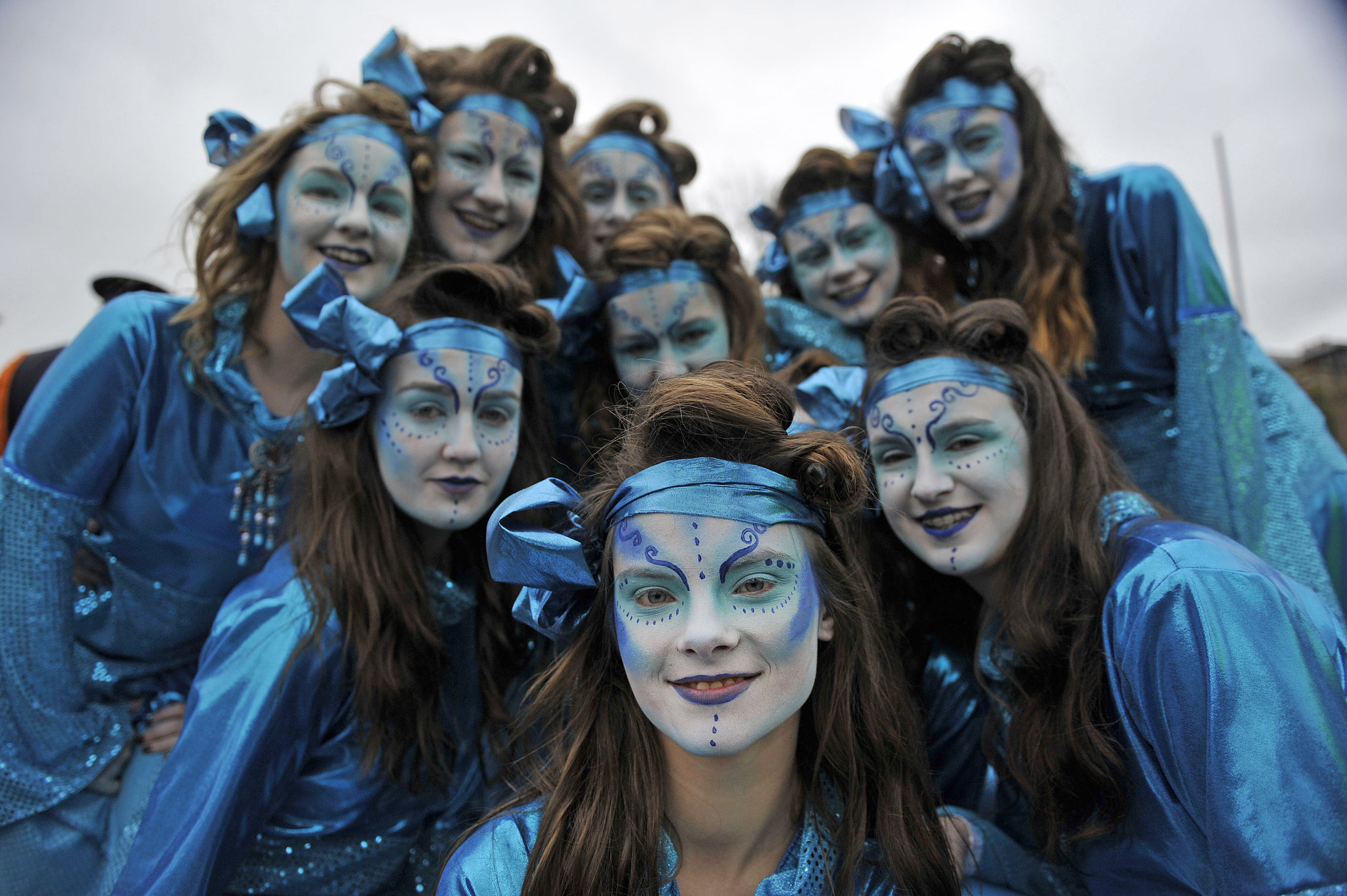 Dublin's traditional parade brought out plenty of costumed groups.