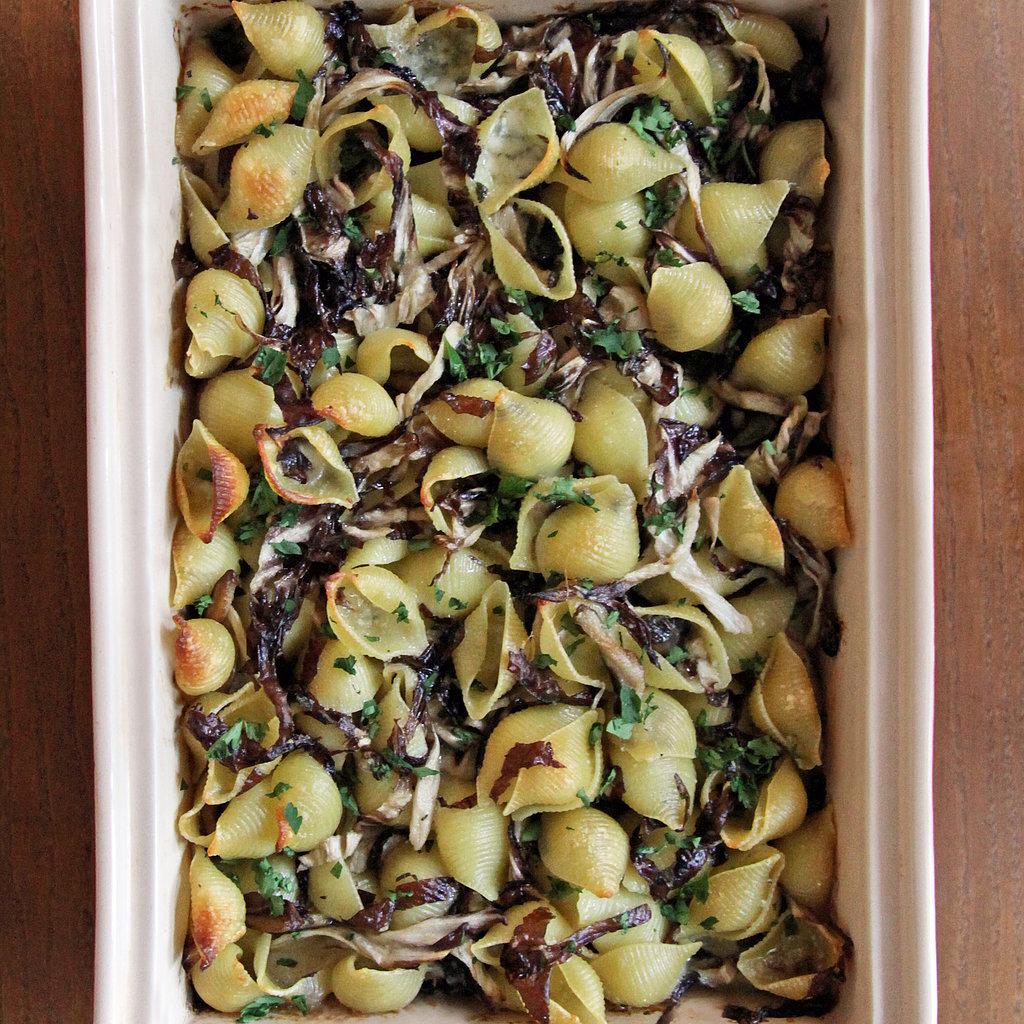 Baked Pasta With Radicchio and Mushrooms Recipe | POPSUGAR Food