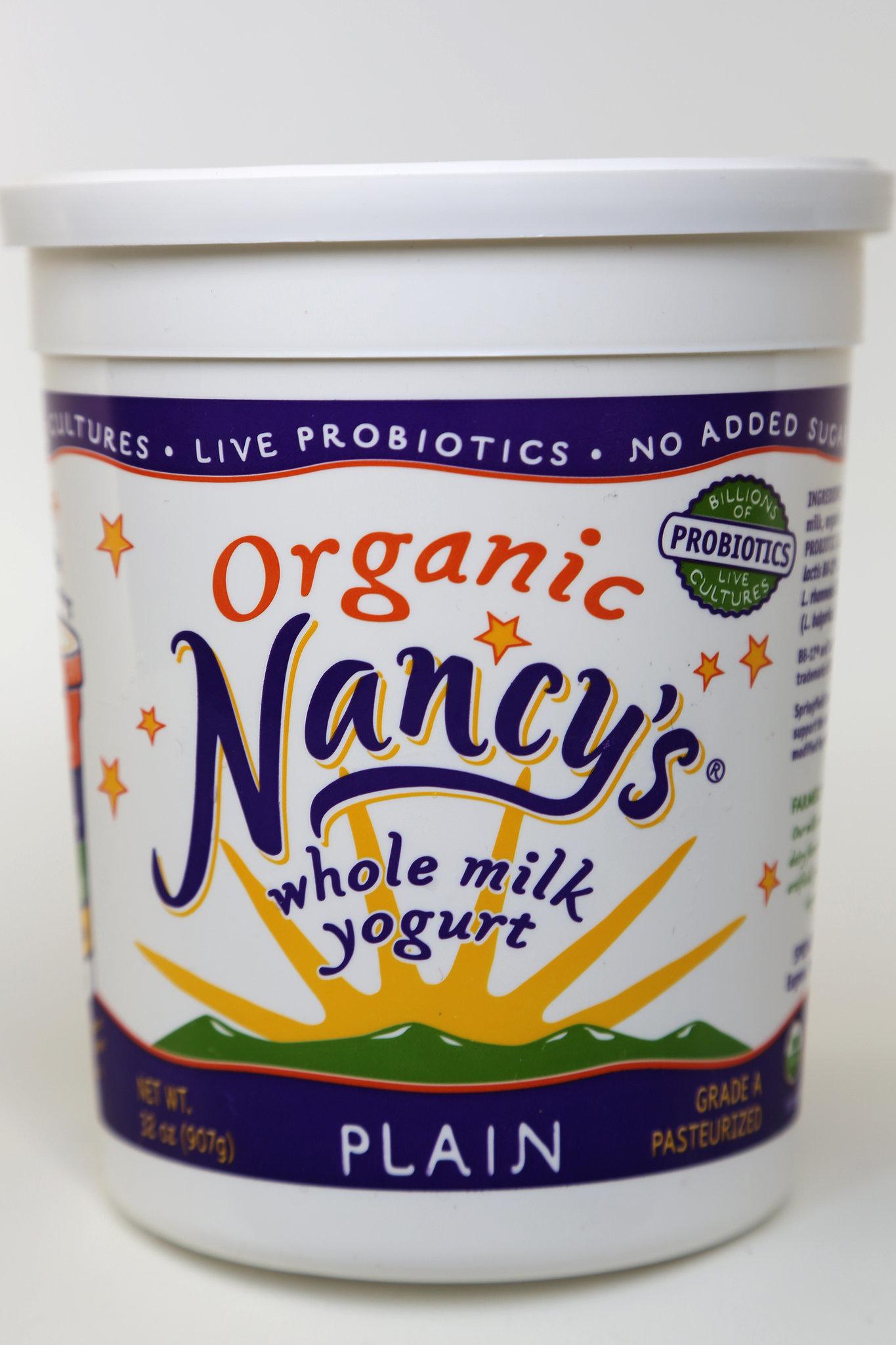 Nancy's Organic Whole Milk Plain Yogurt
