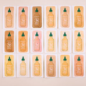 Sriracha and Tapatio Become Works of Art