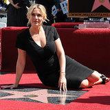 Kate Winslet hat einen Stern auf dem Walk of Fame