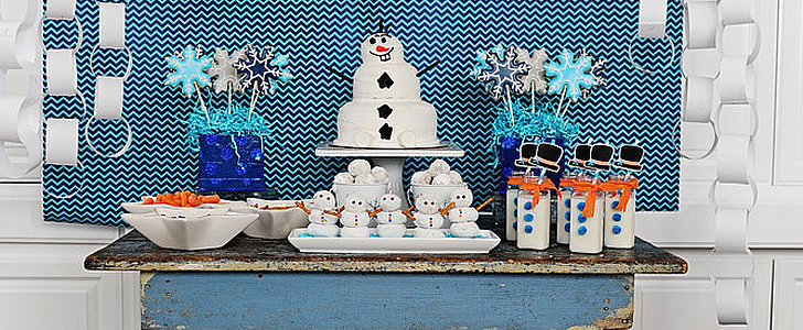 A Happy Snowman Frozen-Themed Party