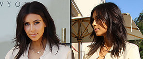 Do You Like Kim Kardashian's Shaggy New Layered Haircut?