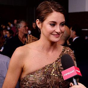 Shailene Woodley Interview at Divergent Premeire | Video