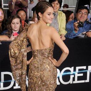 Shailene Woodley and Kate Winslet at Divergent LA Premiere