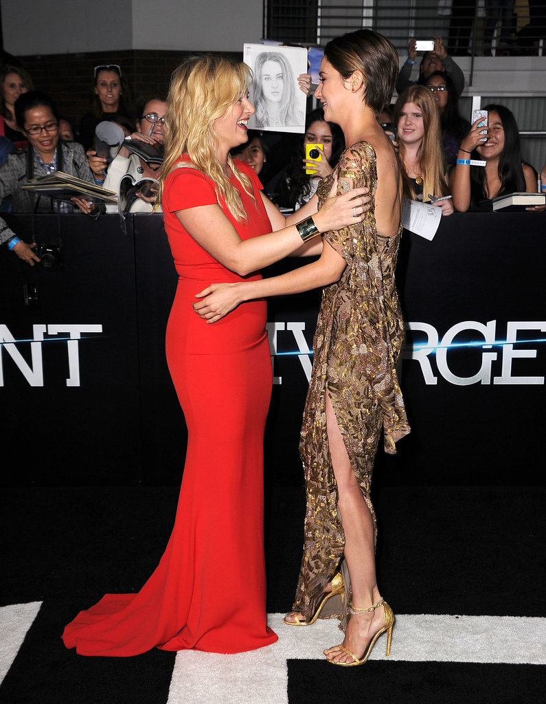 But Would Shailene Have Time to Hug Kate Winslet?