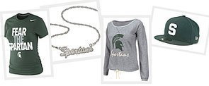 Be a Baller and Root For MSU With Obama in Style