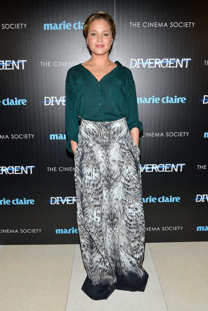Shailene Woodley and Theo James Share a Sweet Moment
