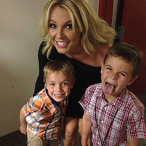 5 Celebrity Moms With Broods of Boys