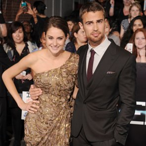 Divergent Stars Show Off Their . . . Shoes