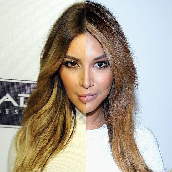 Is Naya Rivera Really Just Kim Kardashian?