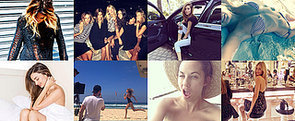 The Insta-Edit: Lara's Beach Body (and New Hair?), Miranda In Bed & More!