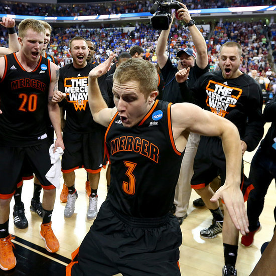 Mercer Player's Victory Dance After Beating Duke | Video