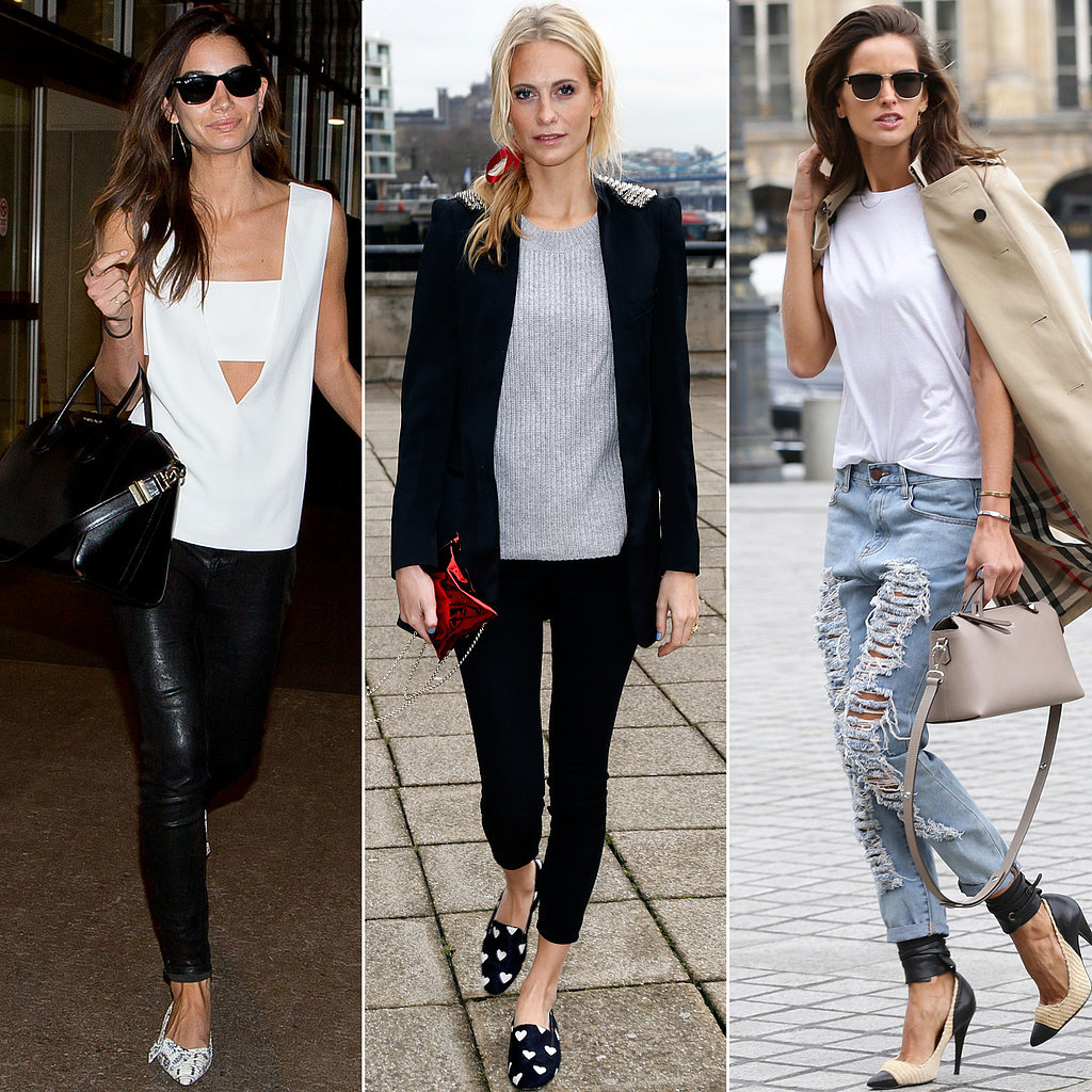 Best Model Street Style Pictures Popsugar Fashion