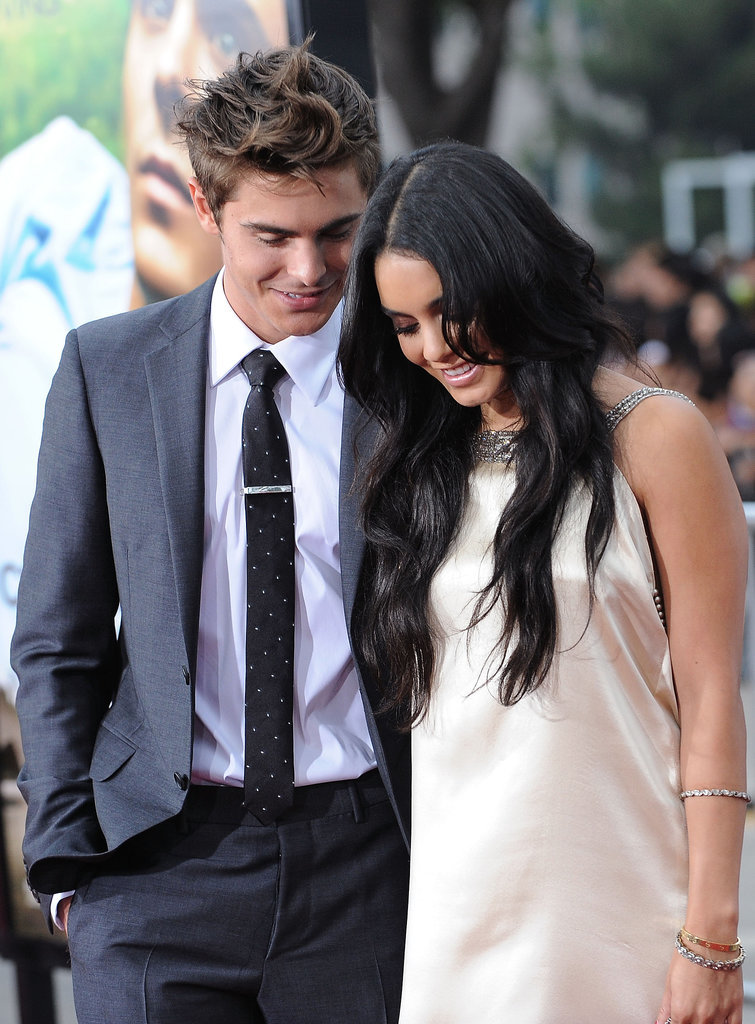Off screen, he was still being ridiculously cute with Vanessa.