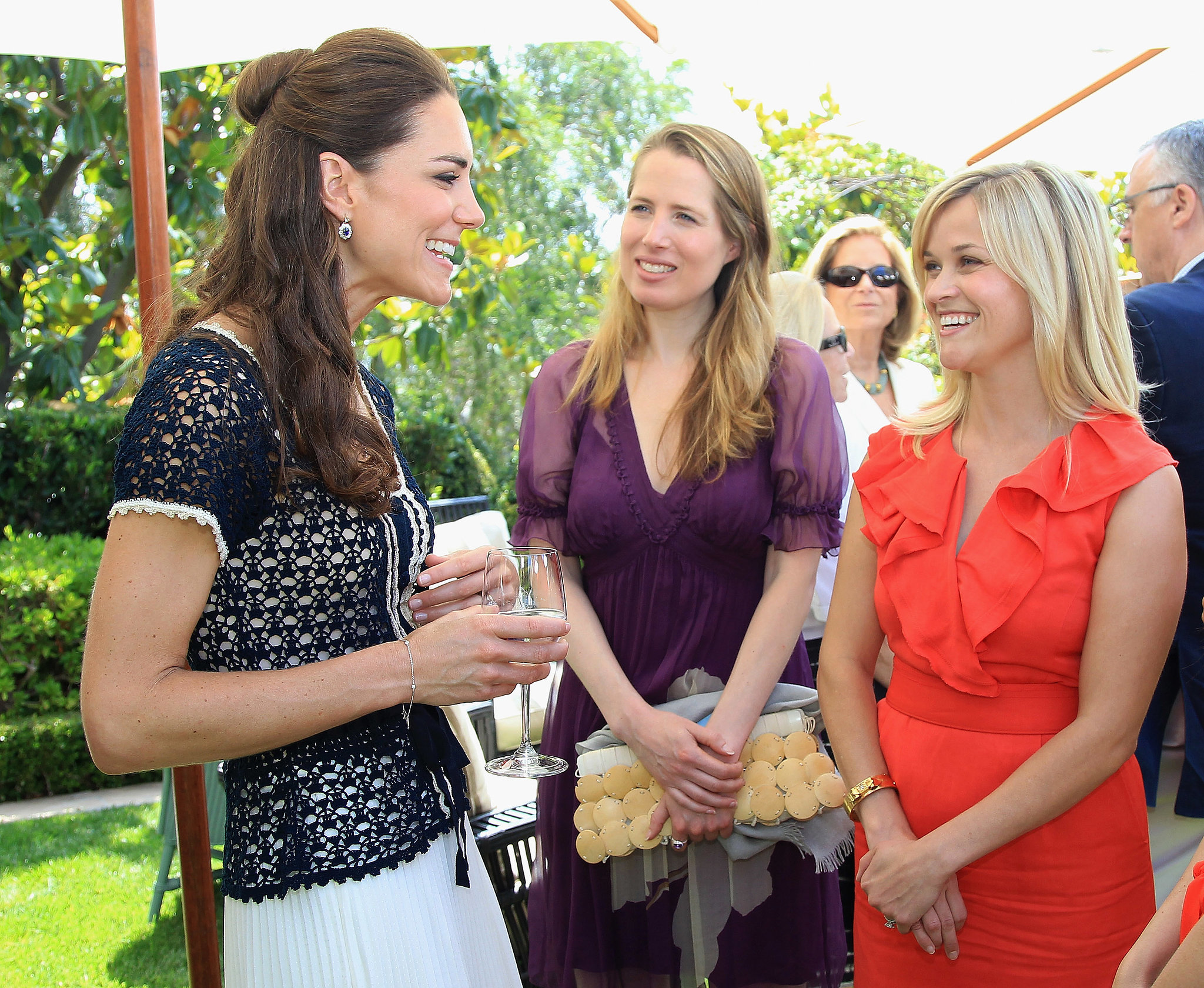 She was honored to meet the Duchess of Cambridge in July 2011.
