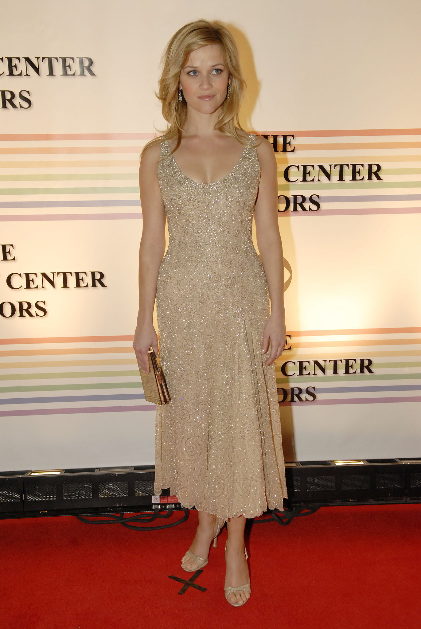 Reese Witherspoon in Beaded Dress at 2006 Kennedy Center Honors