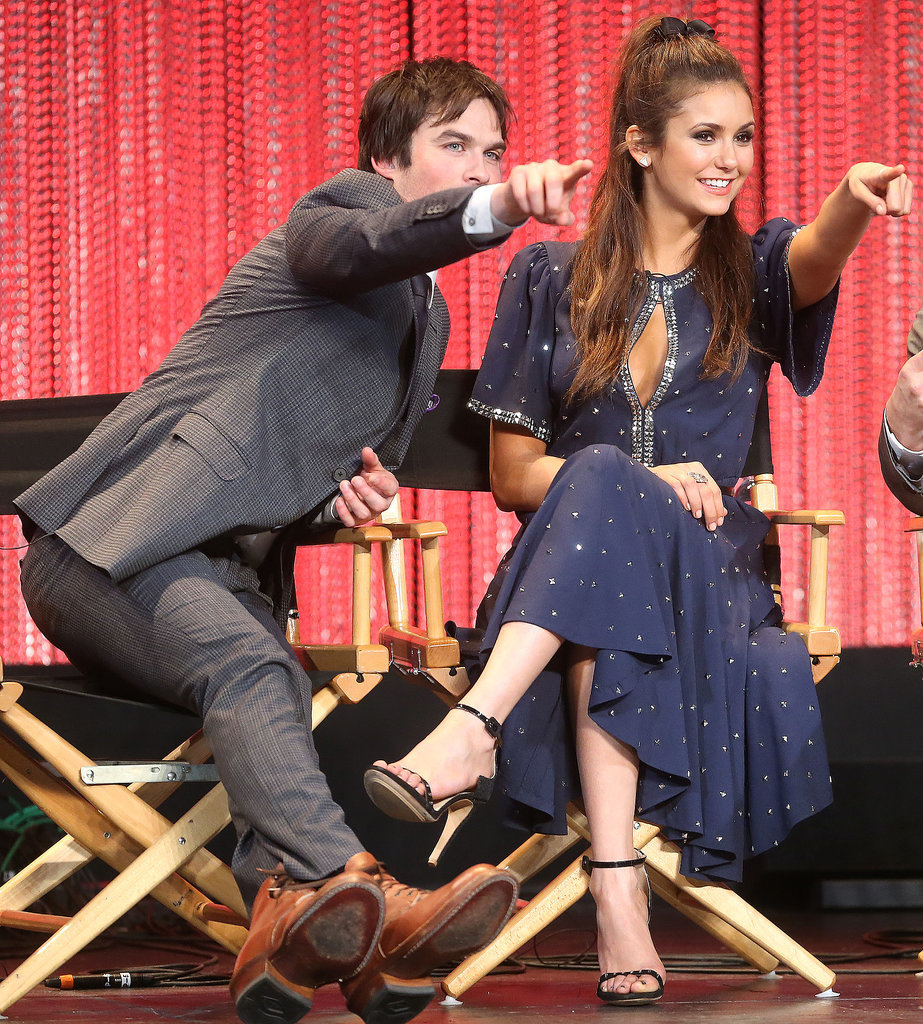vampire diaries cast ian and nina dating Ian somerhalder is returning to tv his years of starring in the vampire diaries to lead the cast of v-wars as dr vampire diaries series finale pictures: nina.